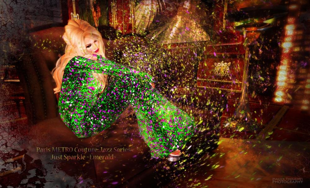 Justsparkle emerald