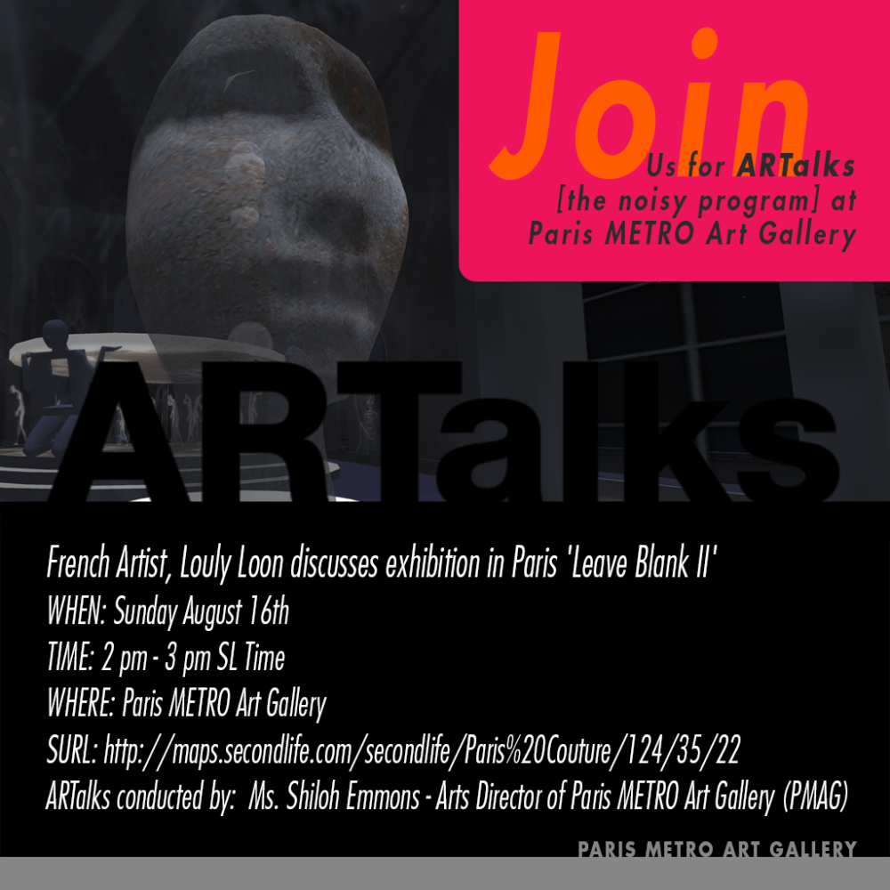 PMAG ARTalks Sunday August16-2015 Loon A