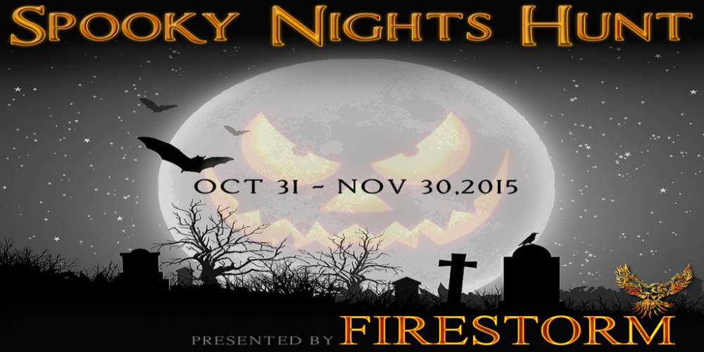 Firestorm Spooky Nights Hunt Poster