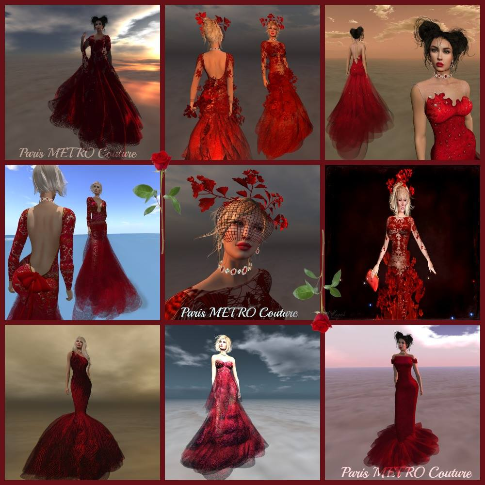 The Great Very Red Romantic Gown Sale!