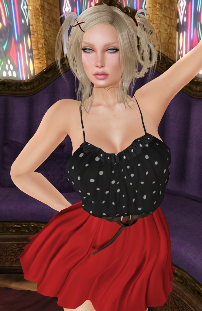 tee*fy verna simple dress ladybug may