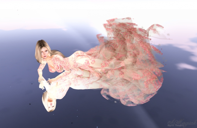 Cherry Blossom Gown