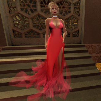 Paris METRO Couture_ Grand Entrance Candy Floss Mesh Gown