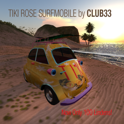 TikiRose SurfMobile by CLUB33 Only 100 L!