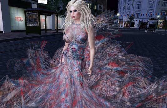 Bastille Day Gown