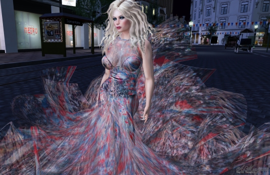 Bastille Day Gown