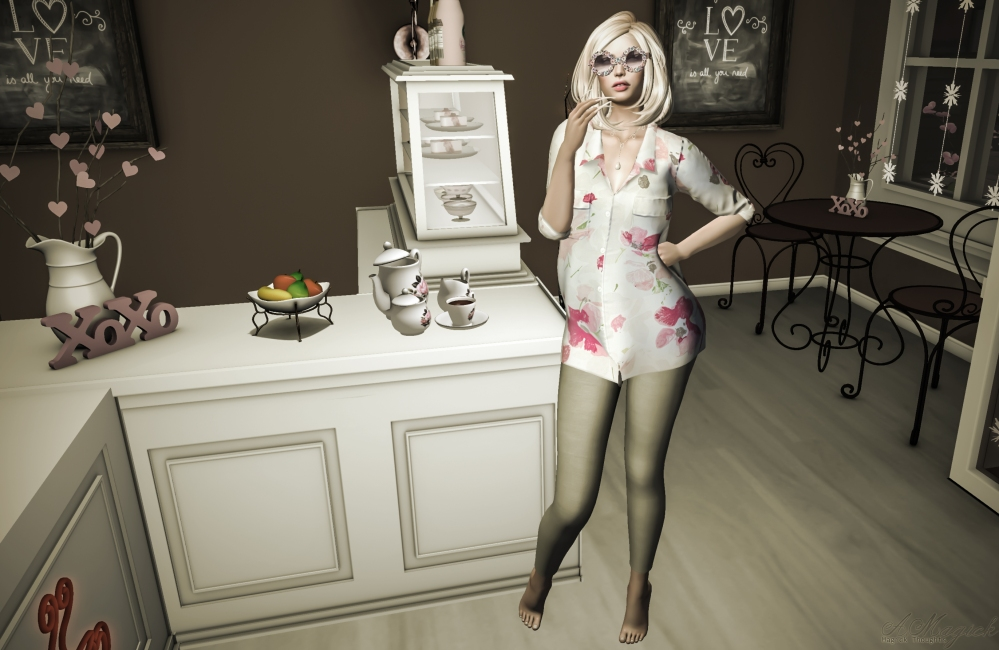 Stella Long Shirt and Leggings