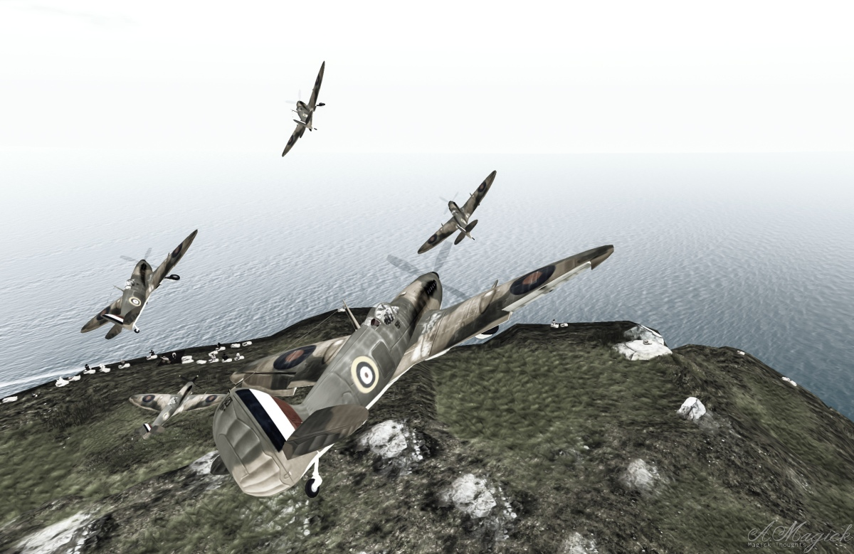 Over the White Cliffs of Dover