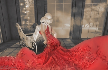 Hollow Out Luxury Gown