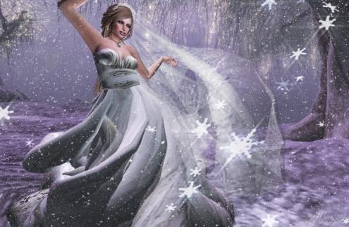 Royal Princess Gown Platinum