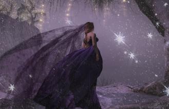 Royal Princess Gown Violet