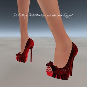 Paris METRO Couture_ Be My Valentine Shoes