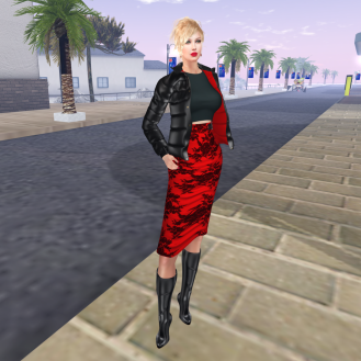Paris METRO Couture_ Sure I Love You Skirt and Jacket
