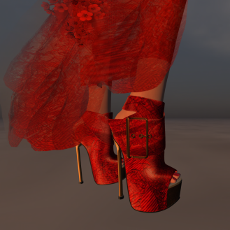 Paris METRO Couture_The Meadow Shoes for Belleza and Slink Red