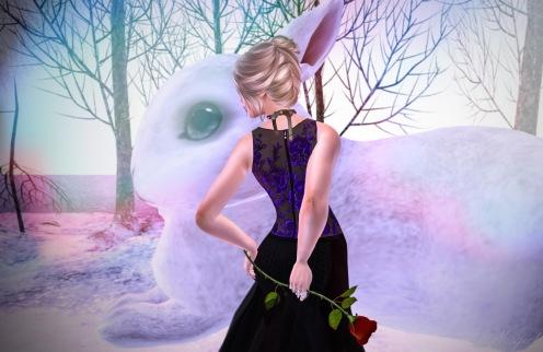 Paris METRO Couture Ultra Violet Love Gown