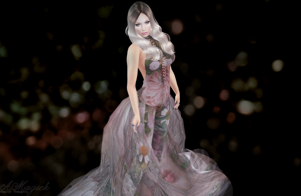 Skip Staheli Artist gown