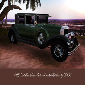 Al Capone's Cadillac1928 Town Sedan Limited Edition by Club33