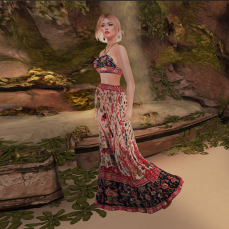 Paris METRO Couture_ Far East Beach Dess & Halter
