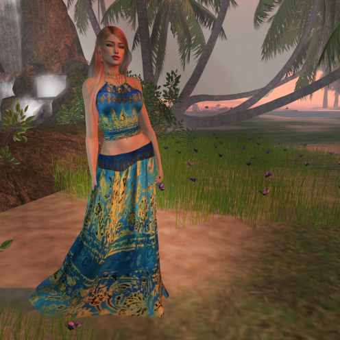 Paris METRO Couture_ Summer Love Skirt & Halter