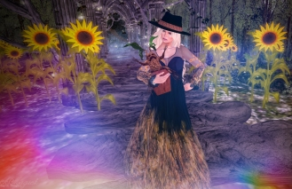 The Sunflowers Boho. Fits Maitreya, Belleza, Slink Bodies, Omega and Classic. It comes with hat and boots! My baby mandrake is from HEXtraordinary.