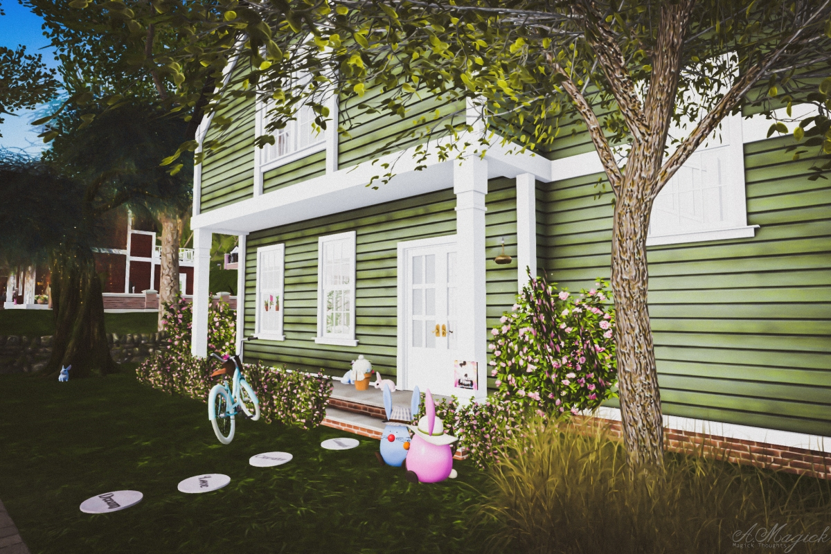 New LL Home Decorated with Less Than 351 prims! Second Life Personal Challenge